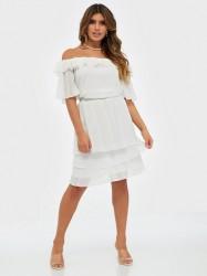 Sisters Point Nicoline Off Shoulder Dress Kjoler