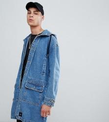 Sixth June denim hooded jacket in blue exclusive to ASOS - Blue