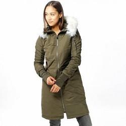 Sixth June Jakke - Long Bomber Fur