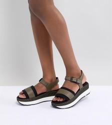 Sixty Seven Mid Heel Sandals - Green