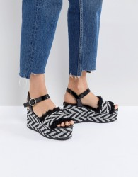 SixtySeven Taike Flatform Espadrille Sandals - Multi