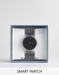 Skagen Connected SKT5000 Falster Mesh Display Smart Watch In Silver - Silver