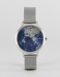 Skagen SKW2718 Anita mesh watch in silver - Silver