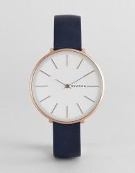 Skagen SKW2723 Karolina leather watch 38mm - Blue