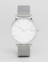 Skagen SKW6442 Hagen Slim Mesh Watch In Silver 38mm - Silver