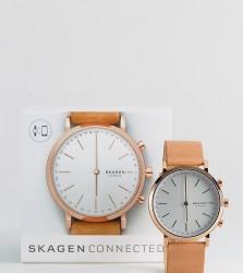 Skagen Tan Hald Smart Watch - Gold