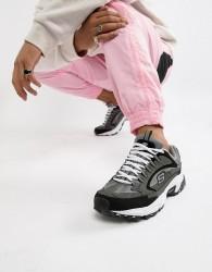 Skechers Stanima Cutback trainers in grey - Grey