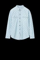 Skjorte med prikker