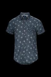 Skjorte med printede mønstre