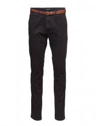 Slim Fit Cotton/Elastan Garment Dyed Chino Pant