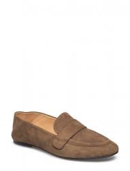 Slip On Suede Flat Shoe