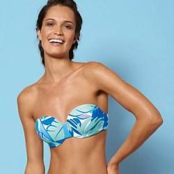 Sloggi Aqua Tropics CTOWP - Blue Pattern - D 42 * Kampagne *