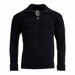 S.N.S Herning S.N.S Fisherman Short Zip Sweater - Herre