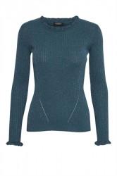 Soaked In Luxury - Bluse - Hadley Pull - Mallard Blue