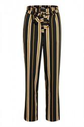 552e6dfb38c7 Soaked In Luxury - Bukser - Malia Pants - Black Stripe Pattern