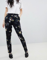 Soaked In Luxury Floral Trousers - Multi