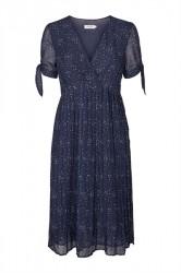 Soaked In Luxury - Kjole - Denise Dress - Navy Spot