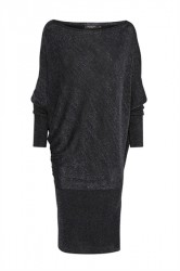 Soaked In Luxury - Kjole - Maiken Knit Dress - Dress Blue With Lurex