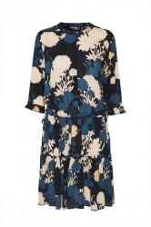 Soaked In Luxury - Kjole - Mirja Dress - Midnight Blue