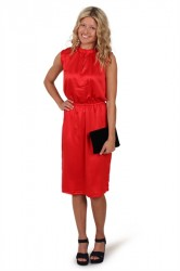 Soaked In Luxury - Kjole - Portia Dress - High Risk Red