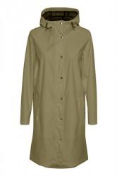 Soaked In Luxury - Regnjakke - Elmo Rain Jacket - Dusky Green
