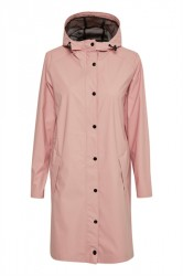 Soaked In Luxury - Regnjakke - Elmo Rain Jacket - Misty Rose