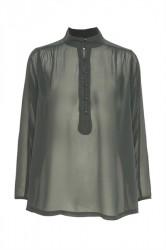 Soaked In Luxury - Skjorte - Joelle Blouse - Forged Iron