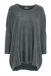 Soaked In Luxury - Strik - Jessica Tunic - Forged Iron Melange