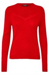 Soaked In Luxury - Strik - Menika Jumper - Fiery Red