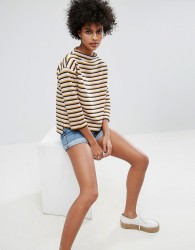 Soaked In Luxury Striped Top - Multi