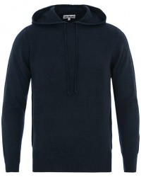 Soft Goat Cashmere Hoodie Navy