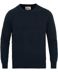 Soft Goat Cashmere O-neck Navy men L Blå