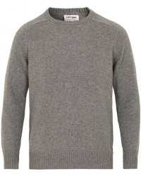 Soft Goat Cashmere Saddle Neck Dark Grey men S
