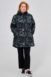 Softshell-jakke med hætte