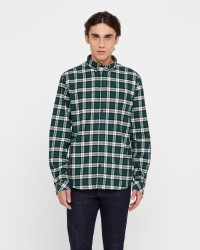 Solid Juan Check langærmet skjorte