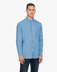Solid Juan langærmet skjorte