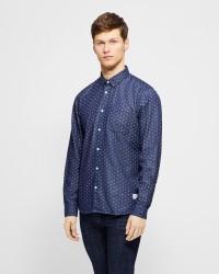 Solid 'Magic' langærmet skjorte