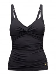 Solids Twist Plus Cup Tankini