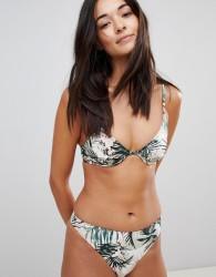 Somedays Lovin Coastal Roaming High Leg Bikini Bottoms - Multi