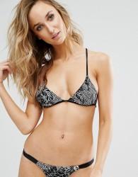 Somedays Lovin Floral Triangle Bikini Top - Multi