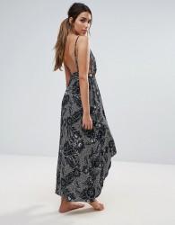 Somedays Lovin Strappy Back Beach Maxi Dress - Multi
