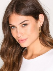 SOPHIE By SOPHIE Knot Stick Earrings Ørering Guld