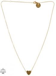 SOPHIE By SOPHIE Mini Heart Necklace Halskæde Guld