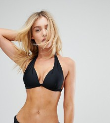 South Beach Mix And Match Super Push Up Bikini Top - Black