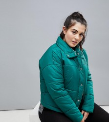 South Beach Plus Padded Jacket - Green