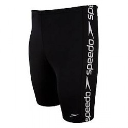 Speedo Superiority Jammer Boys - Black/White - 116