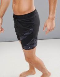 Speedo Swim Shorts Sport Panel 16 Inch - Black