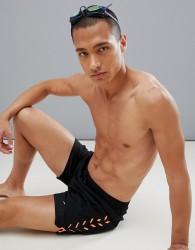 Speedo Swim Shorts Sport Print 16 Inch - Black