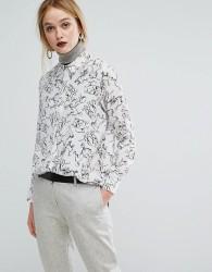 Sportmax Code Dog Print Shirt - White