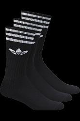 Sportssokker Solid Crew Sock 3-pak